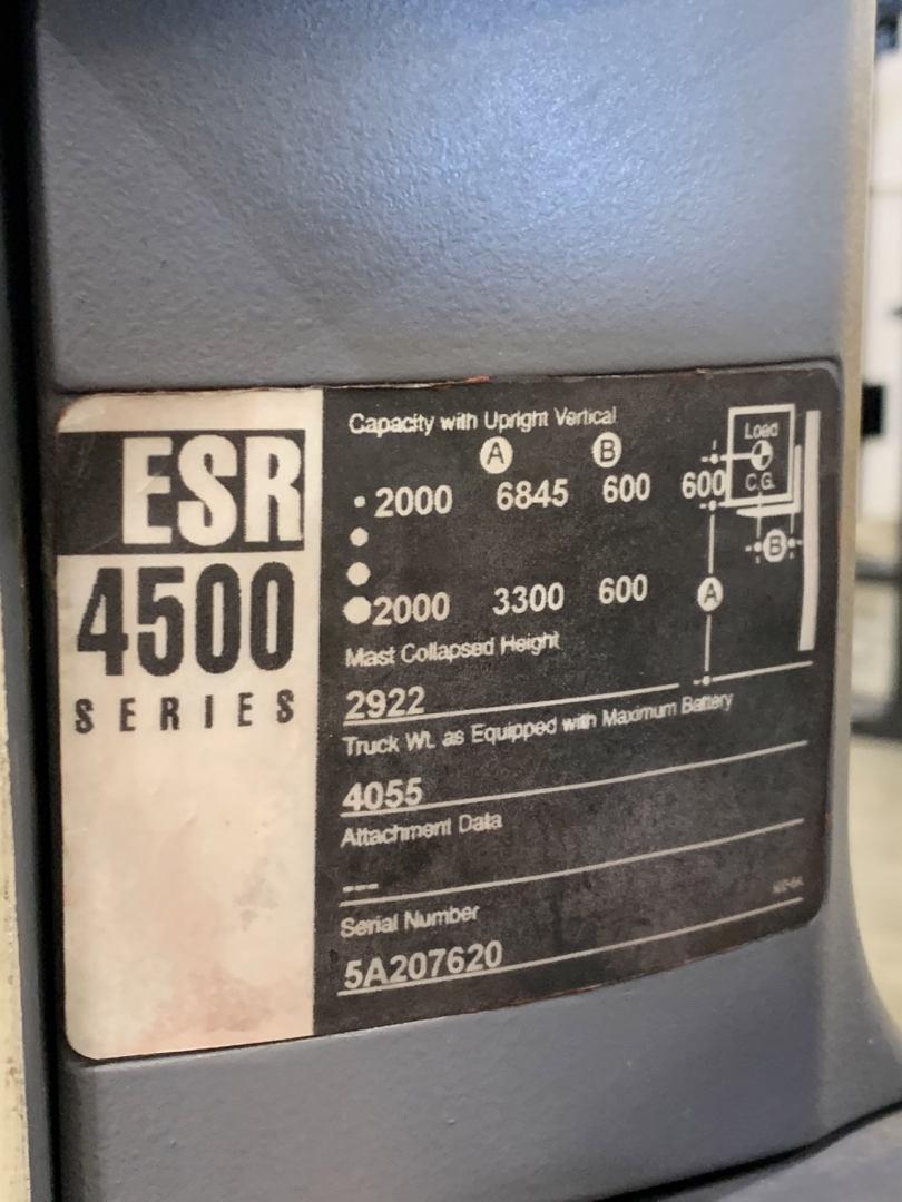 Crown ESR4500 2T Reach Truck